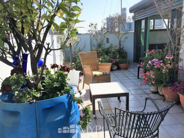 בשדרות רוטשילד דירת גג בבניין באוהאוס 3
