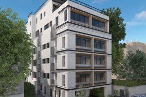 ברחוב מאנה בבניין משופץ 5 חד' עם מעלית וחניה