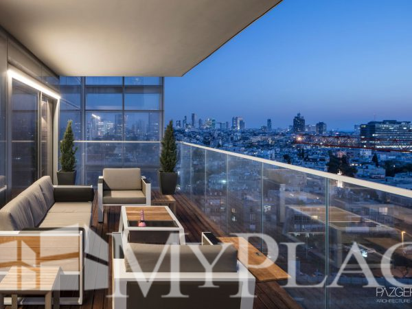 An exclusive high end gorgious residential tower in central Tel Aviv 1
