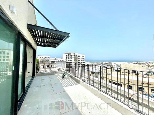 ברחוב צידון פנטהאוז עם נוף מלא לים 2
