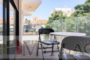 בלב העיר בבניין חדש דירת 2 חדרים עם מעלית חניה ומרפסת