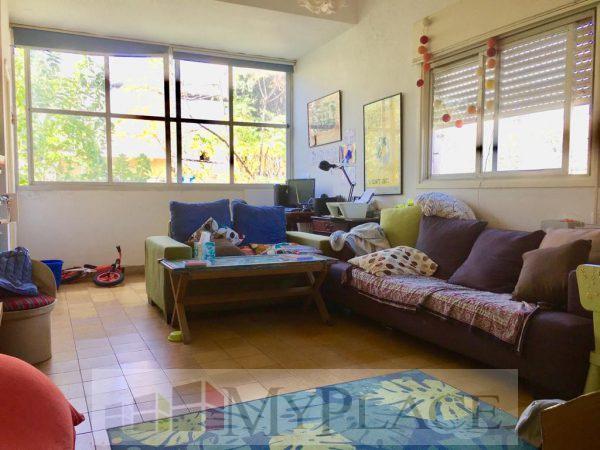 ברחוב מאנה דירת אופי בת 3.5 חדרים עם מרפסת שמש 2
