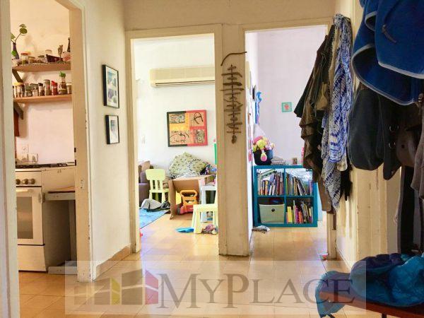 ברחוב מאנה דירת אופי בת 3.5 חדרים עם מרפסת שמש 3