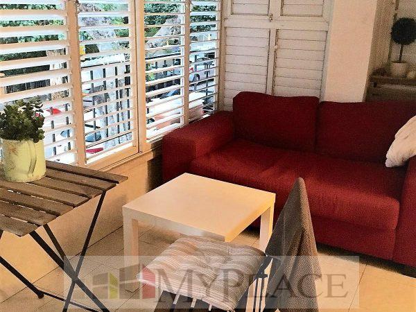 בקרבת כיכר רבין דירת דירת 2 חדרים עם חניה 1