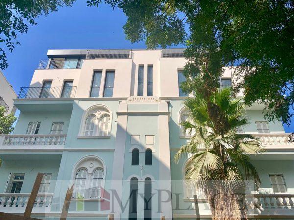 """""""בבית אבושדיד"""" בניין אקלקטי לשימור מהיפים בתל אביב 2"""