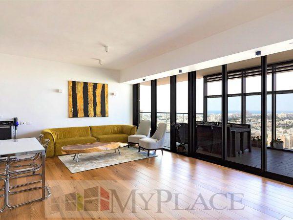 במגדל הגימנסיה דירה בקומה גבוהה עם נוף פתוח 3