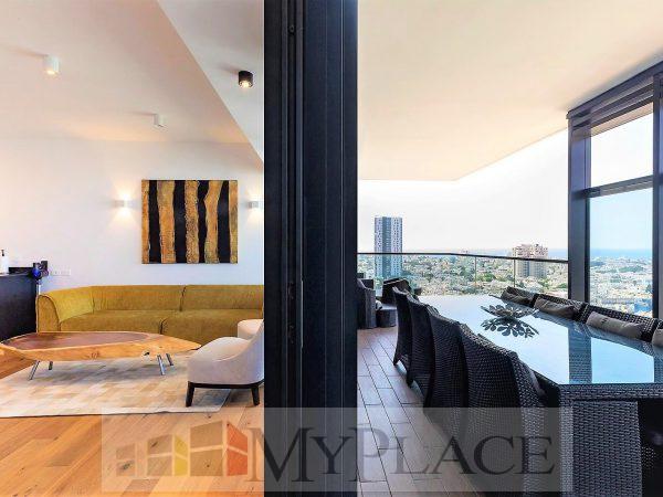 במגדל הגימנסיה דירה בקומה גבוהה עם נוף פתוח 4