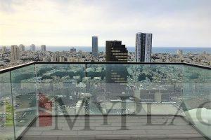 במגדל הגימנסיה דירה בקומה 19 עם נוף פתוח