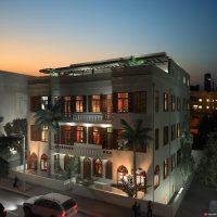 דירת פנטהאוז מדהימה בבניין אקלקטי