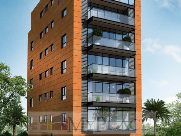 A stride from the sea in a new building a 3.5-bedroom apartment with a terrace and an elevator 1