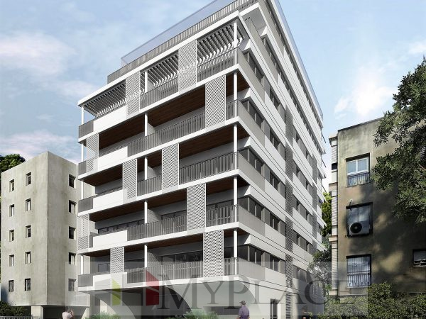 High-end project on Dubnov Street 1