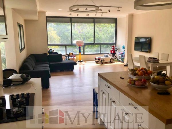 On King David Boulevard a renovated apartment with a lift and a parking lot 1