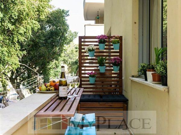 בז'אן ז'ורס היוקרתי דירה משופצת עם מעלית ומרפסת 1