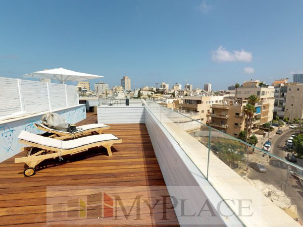 A luxury penthouse with a private pool 11