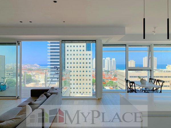 בשדרות רוטשילד דירת 4 חדרים בסטנדרט גבוהה עם נוף מדהים 1