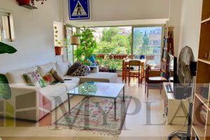 """דירת 2 חדרים לפני פרויקט תמ""""א בצבי שפירא עם מרפסת לנוף ירוק"""