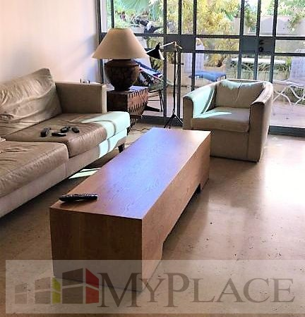 A huge apartment with an elevator terrace and a parking lot in the posh Bavli 2