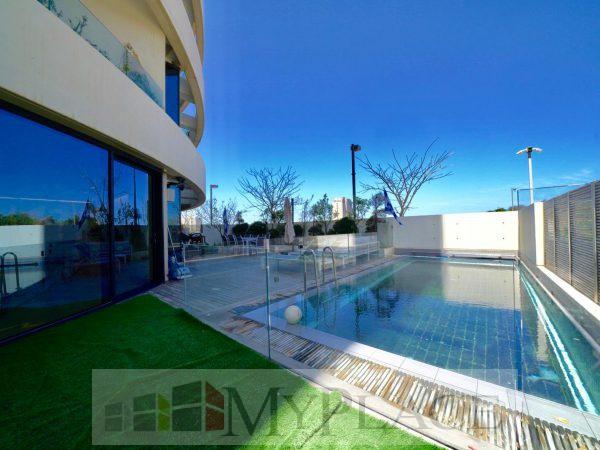 Garden apartment luxury project Blu 3