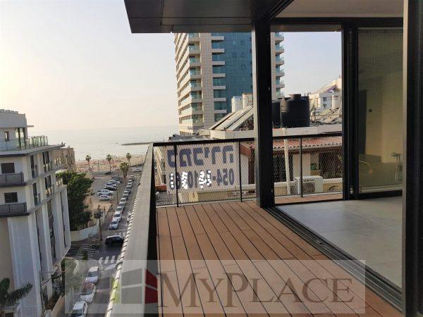 דירה בבניין חדש עם מעלית חניה ונוף לים 1
