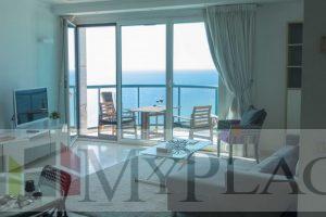 דירת 2 חדרים קו ראשון לים