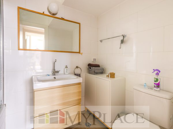 A renovated apartment with a Green View Terrace on Sderot Chen 8