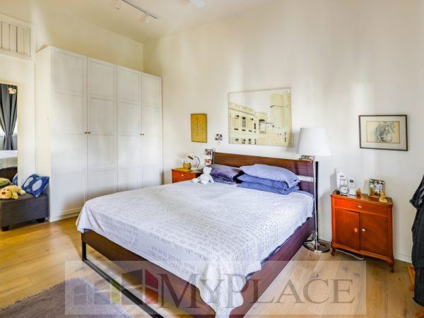 A renovated apartment with a Green View Terrace on Sderot Chen 4