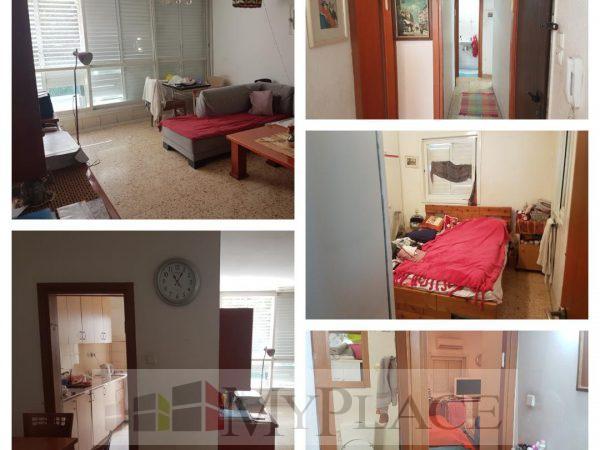 בחובבי ציון דירת 4 חדרים עם מעלית וחניה 1