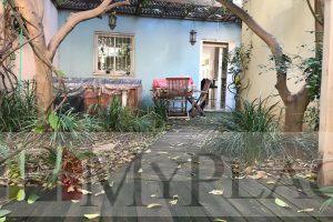 דירת גן כפרית במתחם פרטי בפשפשים