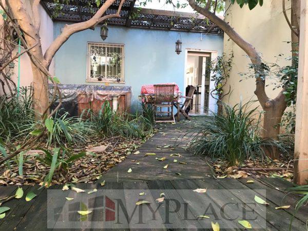 דירת גן כפרית במתחם פרטי בפשפשים 1
