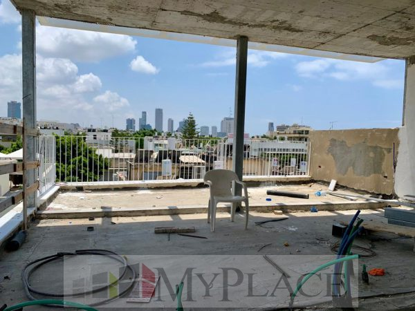 פנטהאוז בבניין חדש בקרבת שדרות חן 1