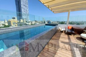 A New Penthouse With A Pool