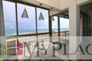 3 חדרים עם נוף מלא לים