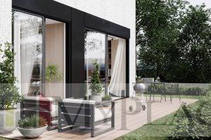 דירת גן חדשה עם מעלית מחסן וחניה