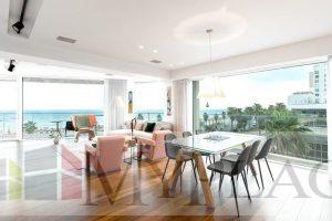 דירת יוקרה בבניין בוטיק על הים