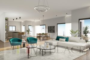 A Huge Apartment In A New Project