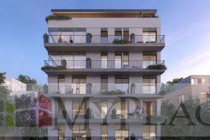 A Garden Apartment In A New Building