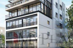 בבניין בוטיק חדש בקרבת מתחם בזל