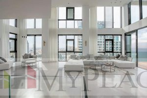 A Luxury Penthouse With A Panoramic Sea View