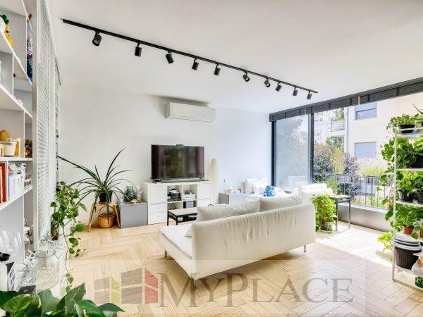 בלב השקט דירה מעוצבת אדריכלית 1