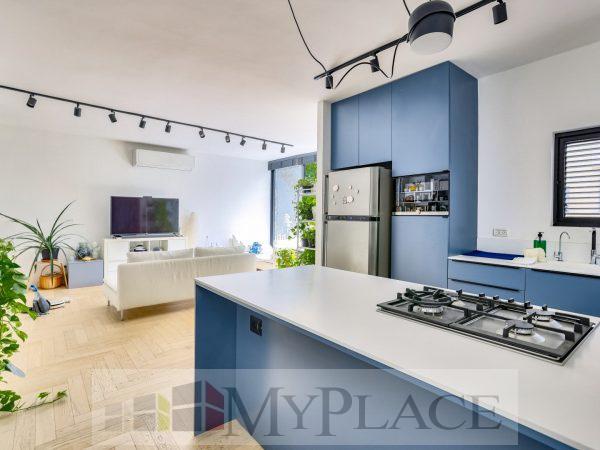 בלב השקט דירה מעוצבת אדריכלית 2