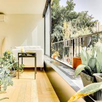 בלב השקט דירה מעוצבת אדריכלית