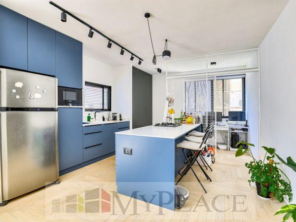 בלב השקט דירה מעוצבת אדריכלית 4