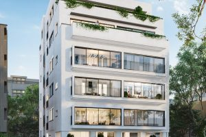 New Renovated Bld In Heart Of Tlv