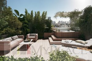 Entire Top Floor Penthouse By Rabin Sq