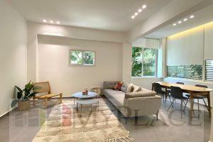 3 חדרים אדריכלית חדשה בבניין משופץ